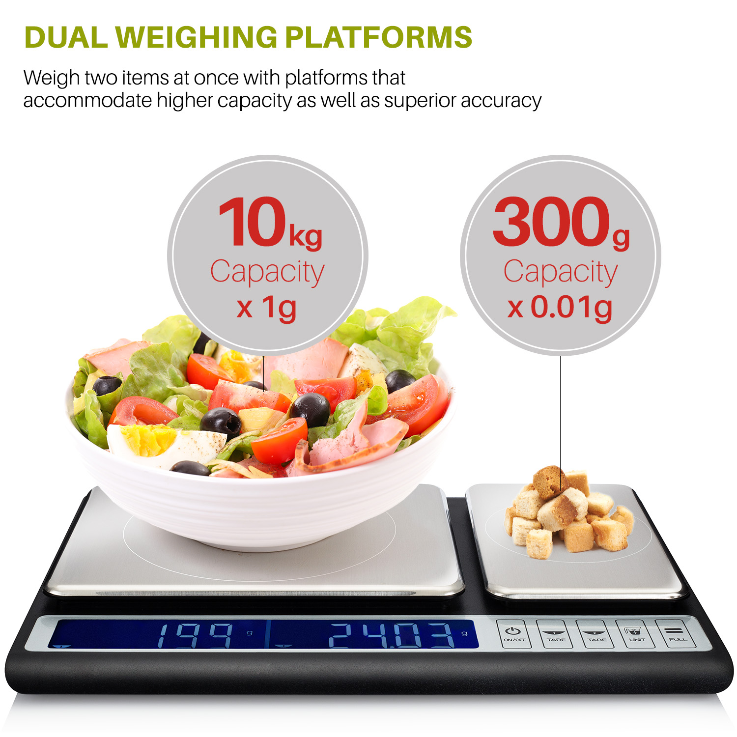 Better basics product for Perfect kitchen pro smart scale